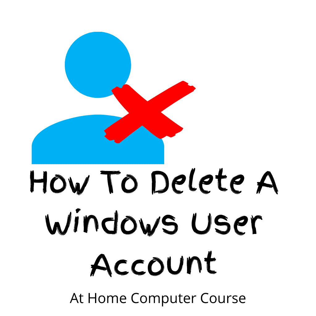 User avatar with cross indicating its been deleted